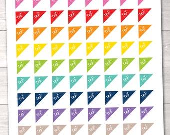 Instant Download Test Printable Planner Stickers School Sticker Set