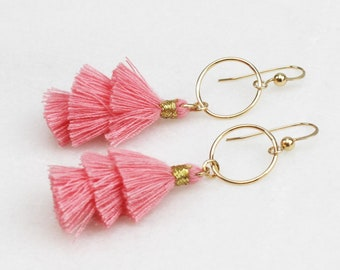 Devon - Statement Earrings, Fan Earrings