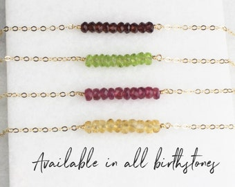 Genuine Birthstone Bracelet