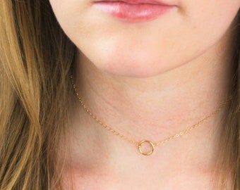 Mini Eternity Choker Necklace