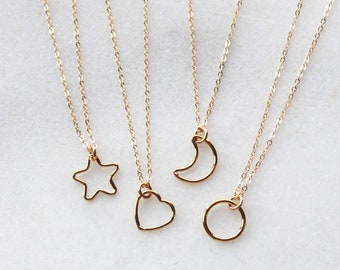 Dainty Necklace in your choice of shape