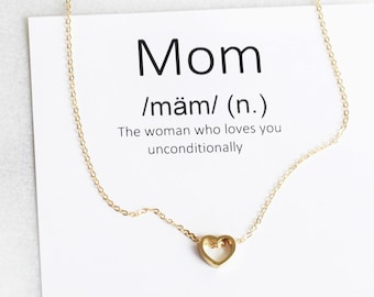 Mom Definition Necklace