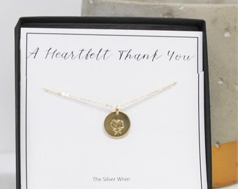 Thank You Rose Necklace