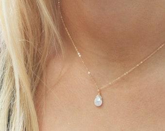 Silverite Gemstone Necklace