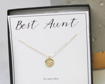 Best Aunt Gift Necklace