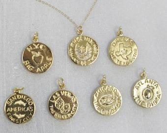 City Medallion Necklace