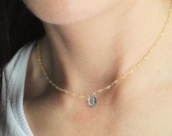 Bridesmaids Gifts, Birthstone Necklace, Necklaces for Women, Birthstone Jewelry, Birthday Gift for her, The Silver Wren, Birthday Necklace