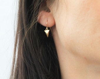 Tiny Spike Earrings