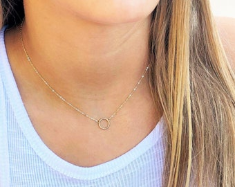 Mini Eternity Necklace