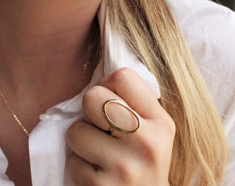 Eternity Gold Oval Ring