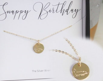 Happy Birthday Gift Necklace