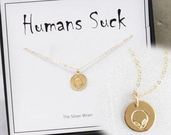 Alien Gift Necklace