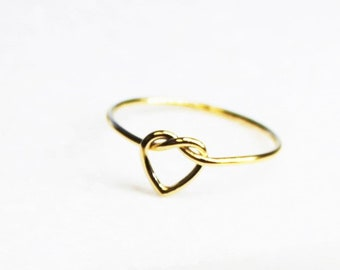Dainty Heart Ring