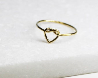 Dainty Heart Ring