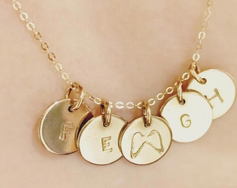Angel Wing Baby Necklace as seen on Lauren McBride