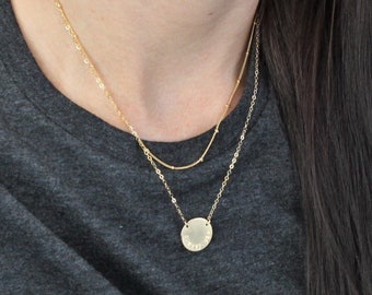 Satellite Chain & Personalized Disc Layered Set