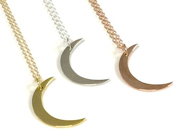 Wish Moon Necklace