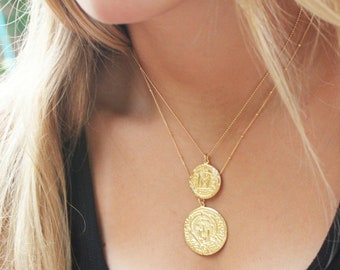 Roman Coin Necklaces