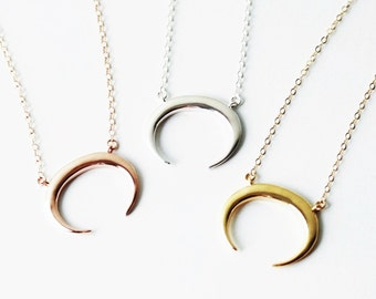 Horn-Arrowhead Necklaces
