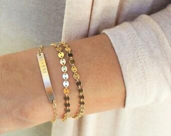 Petite Bar Bracelet