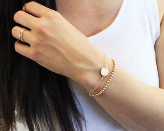 Medium Disc Bracelet