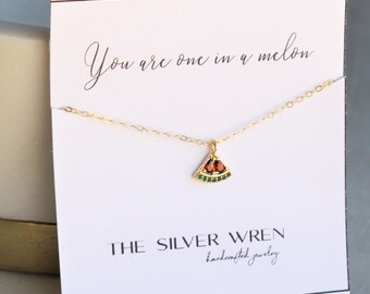 One in a Melon Necklace