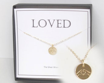 You are Loved Necklace, Gift Necklace