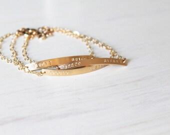 Thin Bar Bracelet