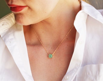 Necklaces for Women, Dainty Necklace, Crystal Necklace, Birthday Gifts, Best Friend Gifts, Crystal Jewelry, Handmade Jewelry
