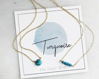 December Birthday - Turquoise Necklace