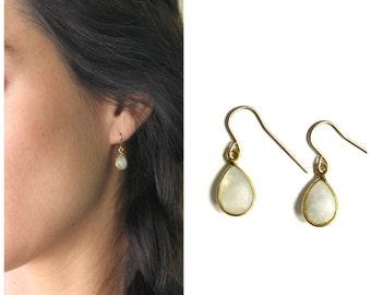 Emma - Gem Drop Earrings