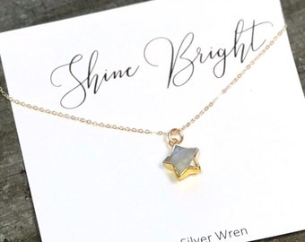 Gift Women, Jewelry Gift, Star Necklace, Gift for Her, Graduation, Gift, Gift for Sister, Best Friend Gift, Dainty Jewelry, Gift for Women