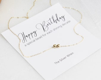 Birthday Gift, Jewelry Gift, Gift for Her, Gold necklace, Gift for Women, Gift for birthday, Necklace for women, Birthday Gifts for Her