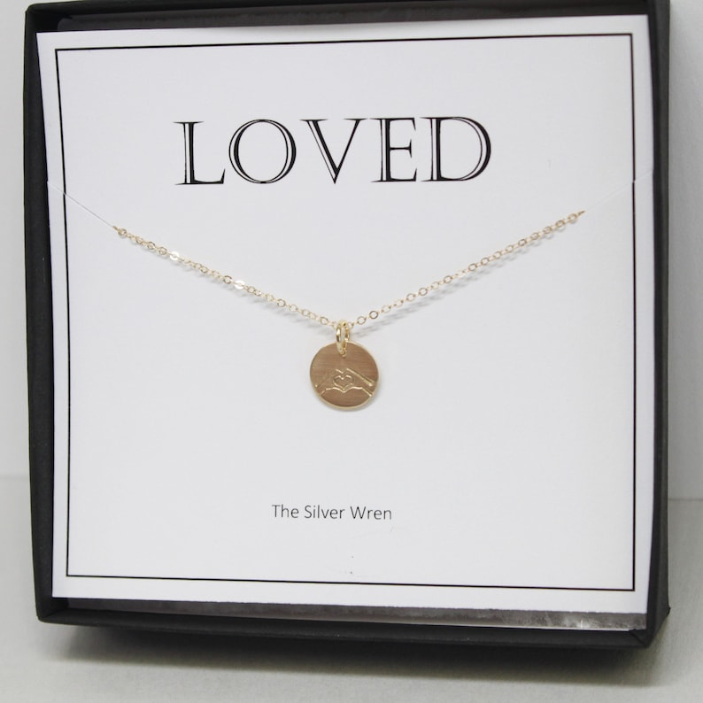 bff You are Loved Necklace Gifts for Women Gift for Her Gift for Sister Best Friend Gift Dainty Jewelry Sister Gift Jewelry Gift