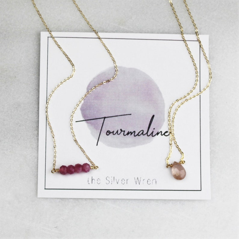Birthday Gifts For Her October Birthstone Necklaces