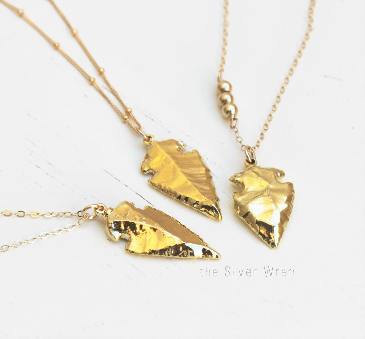 Long necklace arrowhead pendant necklace long gold necklace boho long necklace arrowhead pendant necklace long gold necklace boho necklace gold arrowhead necklace layering jewelry layering necklace aloadofball Image collections