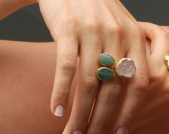Pink Rose Garden Ring