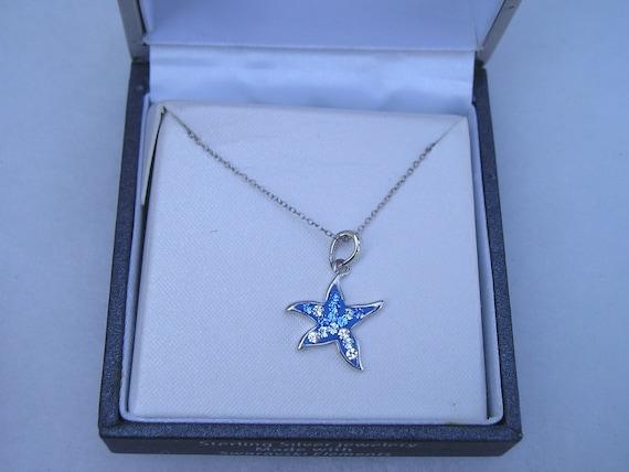 Pretty Sterling 925 Swarovski Crystal Star Pendan… - image 4