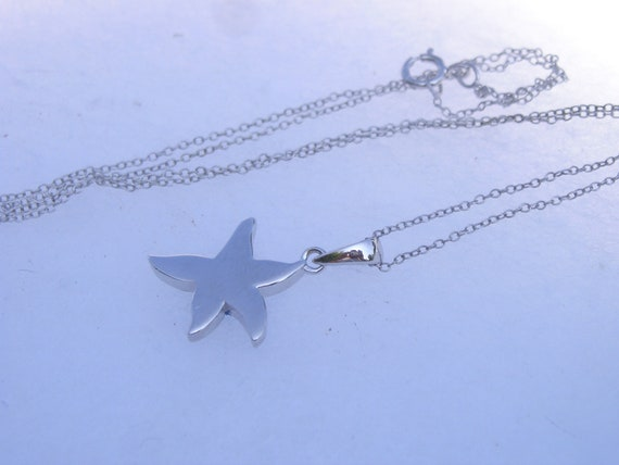 Pretty Sterling 925 Swarovski Crystal Star Pendan… - image 5