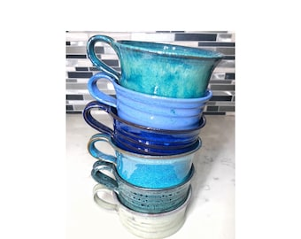 Handmade Pottery Soup Cup Chili Bowl (6 colors) FREE shipping