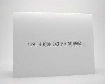 Funny Valentine Card- Funny Love Card- Boyfriend Card- Husband Card- Funny I Love You Card