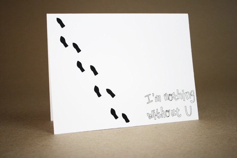 I Miss You Card I/'m Nothing Without You