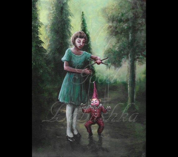 Marionette Painting