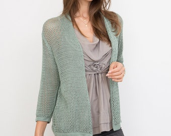 Bamboo Knit Cover-Up: Rosemary