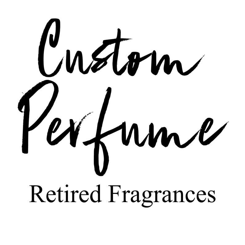 Retired Fragrance Custom Perfume image 0