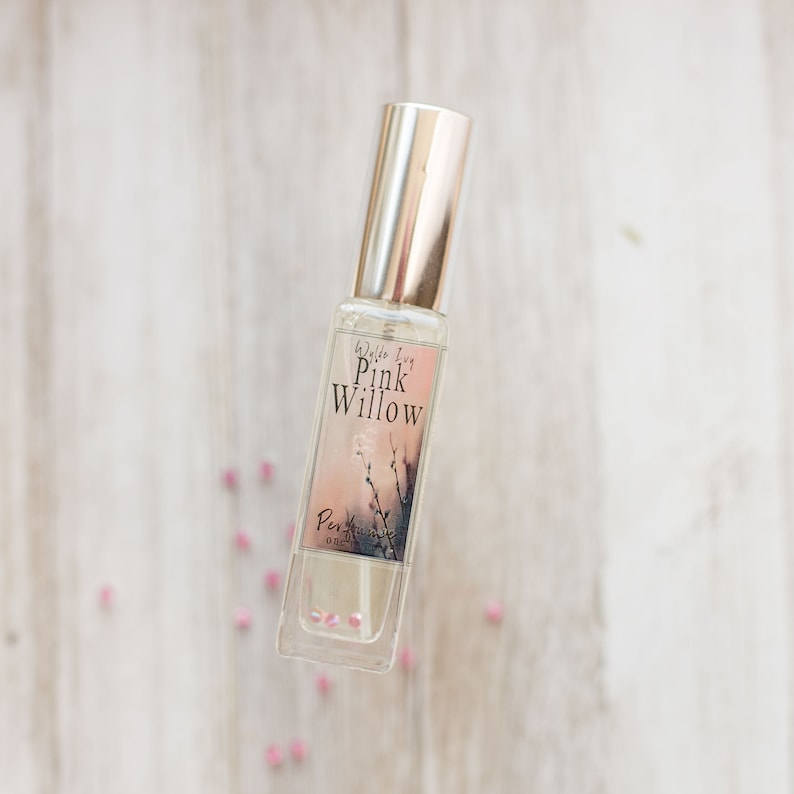 Pink Willow Perfume  Spring Inspired Scent of White Musk image 0