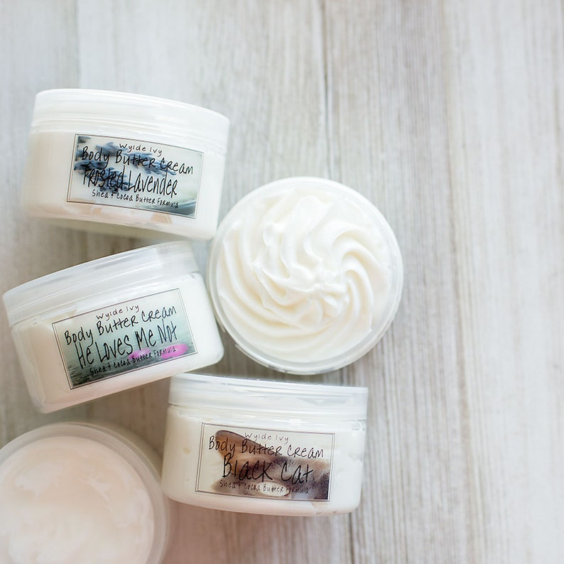 Body Butter Cream  Your Choice of Scent image 0
