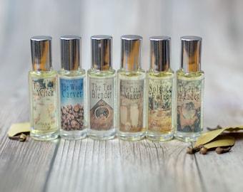 Solstice Faire Collection Perfume Oils