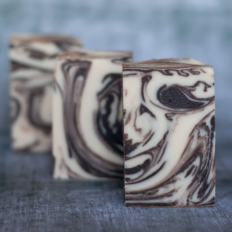 Black Tobacco Handmade Soap image 0