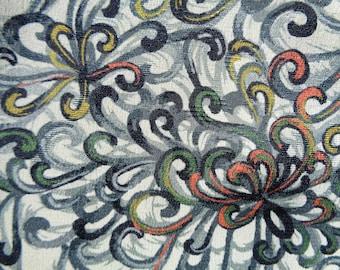 Kimono Silk Abstract Kiku